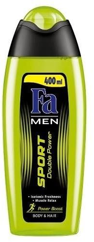 Fa Men Sport Double Power Shower Gel żel pod prysznic do mycia ciała i włosów dla mężczyzn 400ml