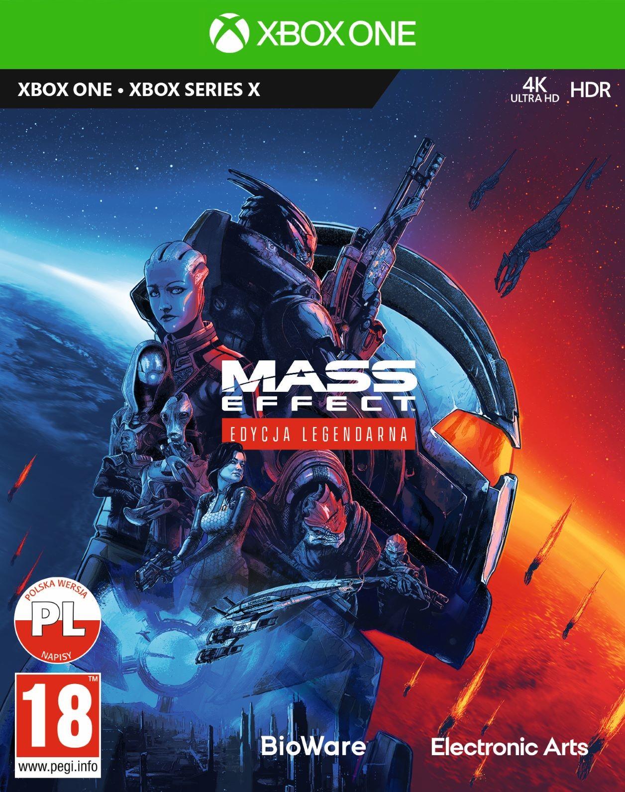 Mass Effect Edycja Legendarna (GRA XBOX ONE / XBOX SERIES X)