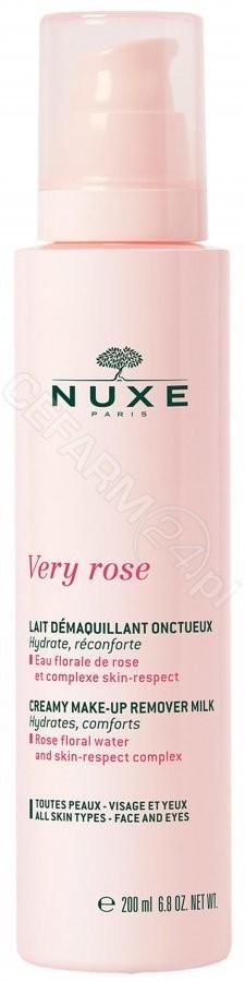 NUXE Nuxe Very rose kremowemleczko do demakijażu 200ml