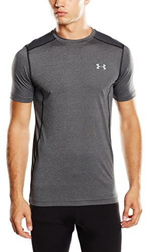 Under Armour koszulka dla mężczyzn RAID Short Sleeve Tee Fitness, szary, L 1257466