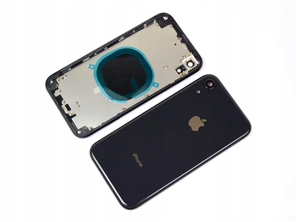Klapka Baterii Obudowa Ramka do Iphone Xr czarny