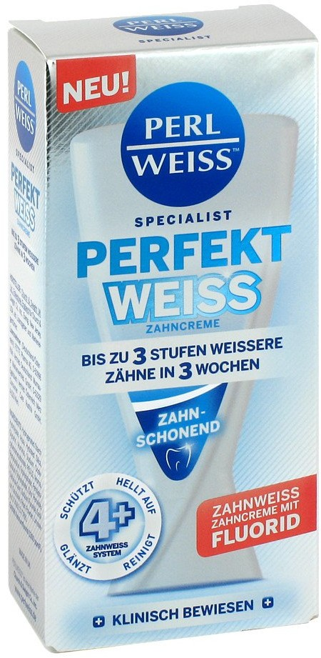 Fette Pharma AG Perlweiss Perfekt Weiss Zahncreme 50 ml