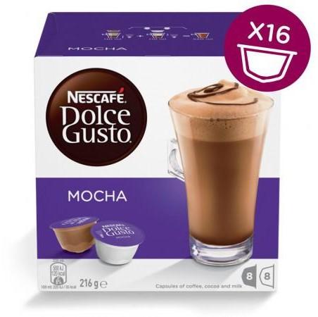 Nescafe DOLCE GUSTO Coffee Moka 16 kapsułek