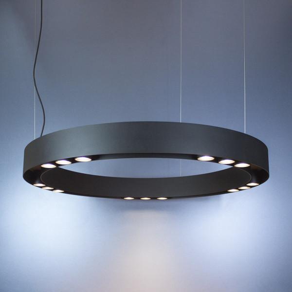 Koło Imperium Light lampa wisząca Linkor 15xGU10 czarna 100cm 27415100.05.05