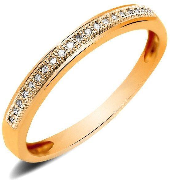Obrączka Srebrna Pokryta Różowym Złotem 6451
