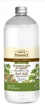 Green Pharmacy Płyn do kąpieli Olej arganowy i Figi 1000ml GP18-1343