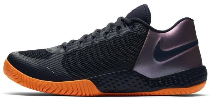 Nike Damskie buty do tenisa na twarde korty NikeCourt Flare 2 - Niebieski AV4713-400