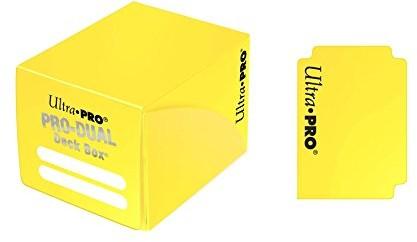 Ultra Pro 82986 Deck Box Dual Small, żółty