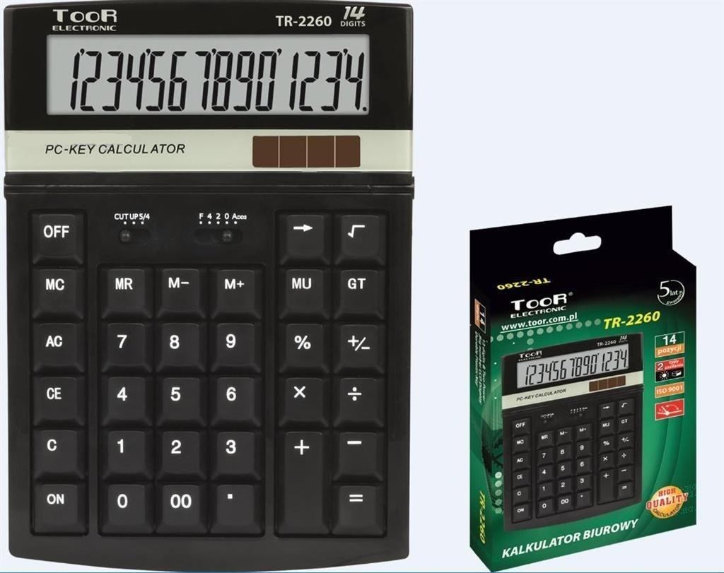 Grand  Kalkulator biurowy 14-pozycyjny TOOR