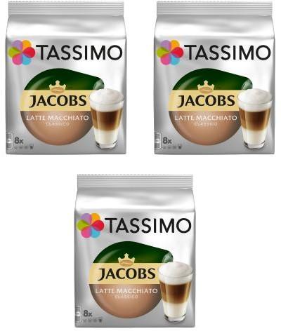Tassimo Tassimo Latte Macchiato 3 opakowania