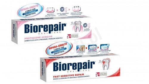 BioRepair Pasty Biorepair - Szybka ochrona + Delikatne dziąsła 3FAF-6537A