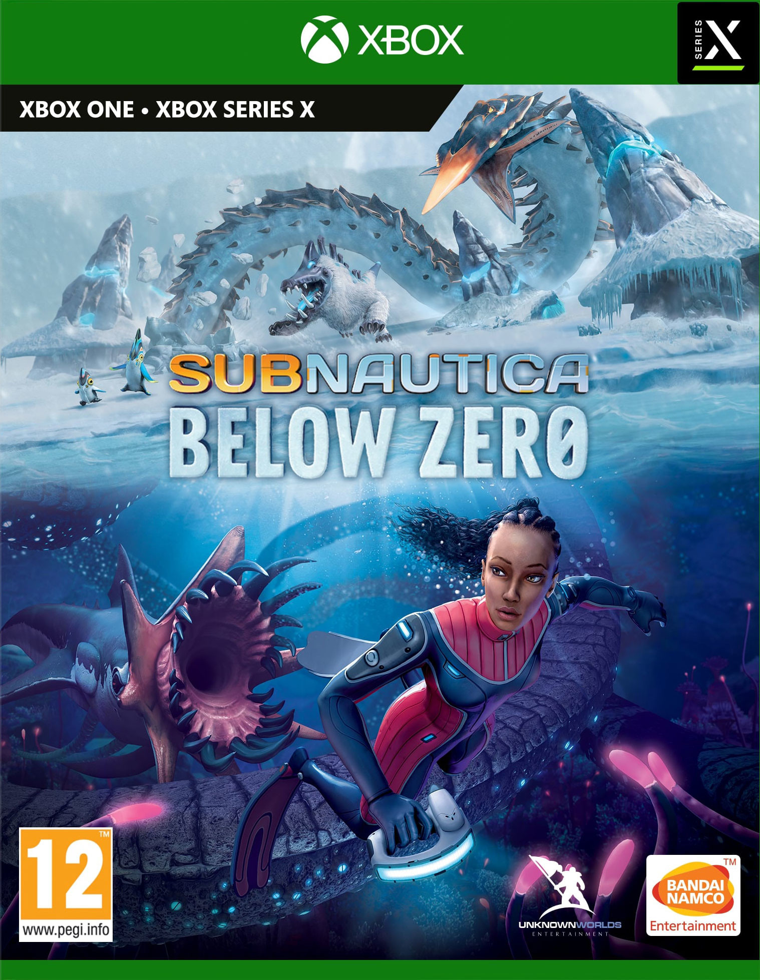 Subnautica Below Zero (GRA XBOX ONE / XBOX SERIES X)
