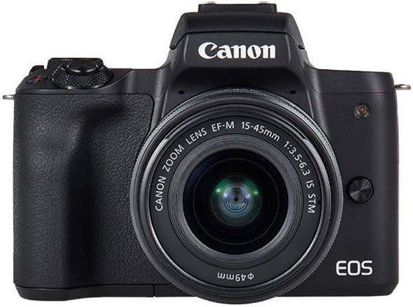 Canon EOS M50 + 15-45 + 55-200 kit czarny (2681C022)