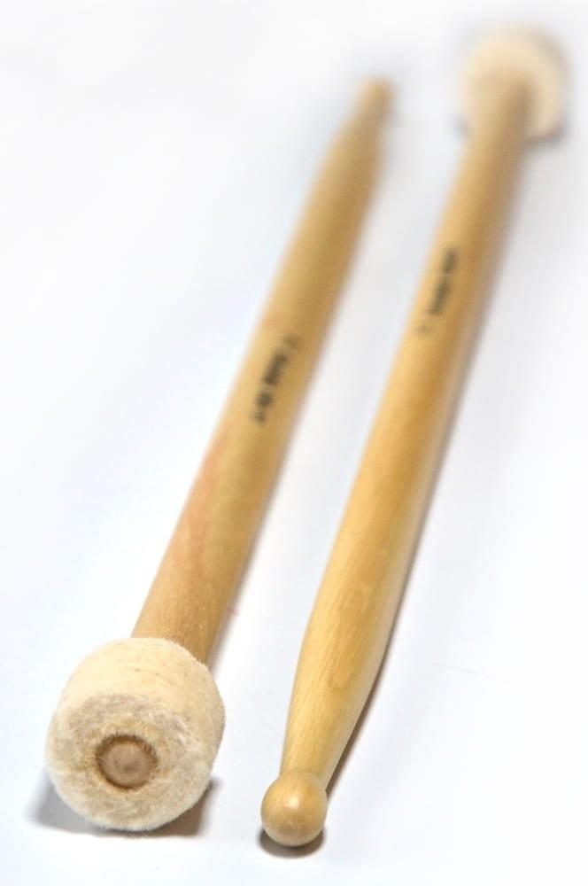 Gładek PF Rock 150 pałki z filcem i główką drewnianą