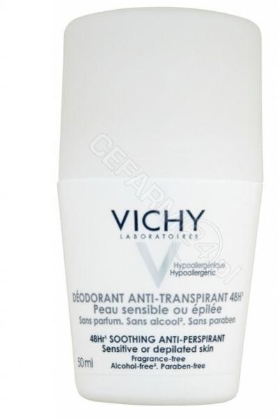 Vichy Dezodorant do skóry rażliej 48H 50ml