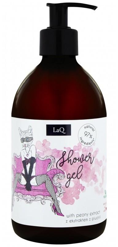 LaQ LaQ Perfumowany żel pod prysznic dla kobiet - Kocica Piwonia