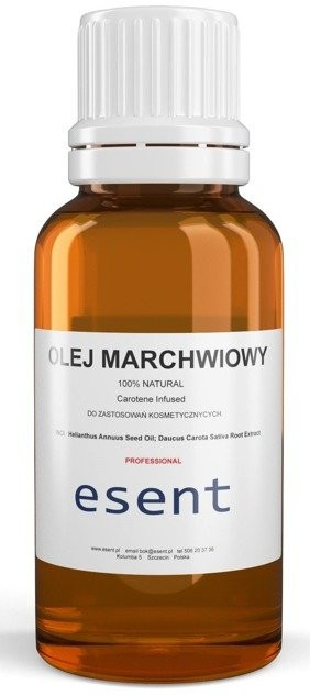 Esent Esent Olej marchwiowy naturalny 20ml 1234606902