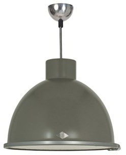 Original BTC Original BTC Giant 1 Lampa wisząca 29,5x35,5 cm IP20 E27 GLS szara FP066ST