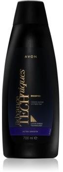 Avon Advance Techniques Ultra Smooth szampon przeciwko puszeniu się włosów 700 ml