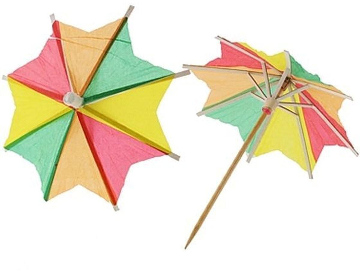 GoDan parasolki papierowe kolorowe