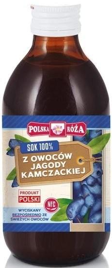 Polska Róża 137Polska Róża Sok z Owoców Jagody Kamczackiej 250ml - PLRSOKKAMC250