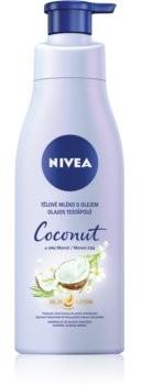 Nivea Coconut & Monoi Oil pielęgnujące mleczko do ciała z olejem 200 ml