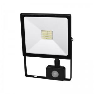 DPM-SOLID Naświetlacz LED 50W 3500 lm kwadratowy czujnik ruchu FL27-50W-PIR