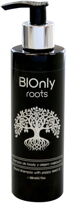 BIOnly roots BIOnly roots Szampon do brody z olejem makowym 200ml 5903282120341