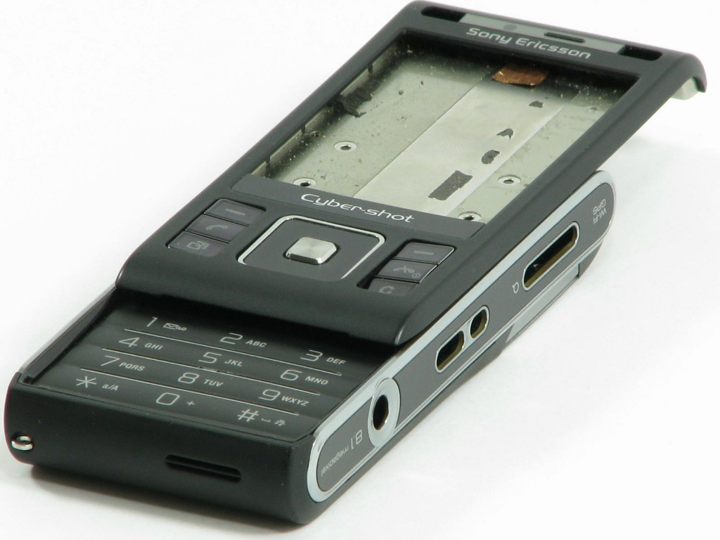 Sony Ericsson C905 OBUDOWA ORYGINALNA GRADE B G / W326