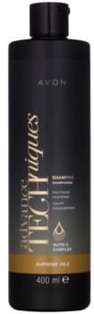 Avon Advance Techniques Supreme Oils intensywnie odżywiający szampon z luksusowymi olejkami do wszystkich rodzajów włosów 400 ml