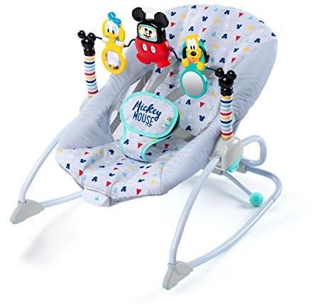 Disney Baby 10327Mickey Mouse Take Along Songs 2in1przełącznik kołyskowy, wielokolorowy