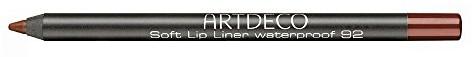 Artdeco Soft Lip Liner Waterproof unisex, odporny na wodę konturówki pojemnik na kolor: 92 Cherry bordo, 1er Pack (1 X 1 G) KAF4892