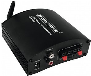 OMNITRONIC WS-1RA 2.4GHz Receiver Cyfrowy system transmisji dźwięku 2,4 GHz - Odbiornik 13072212