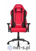 AKRacing Core EX-WIDE czerwony/kolor czarny Fotel gamingowy