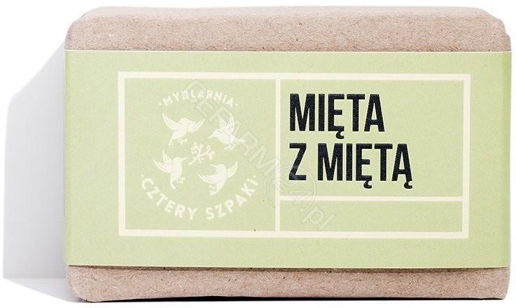 CZTERY SZPAKI Cztery Szpaki mydło Mięta z Miętą 110 g