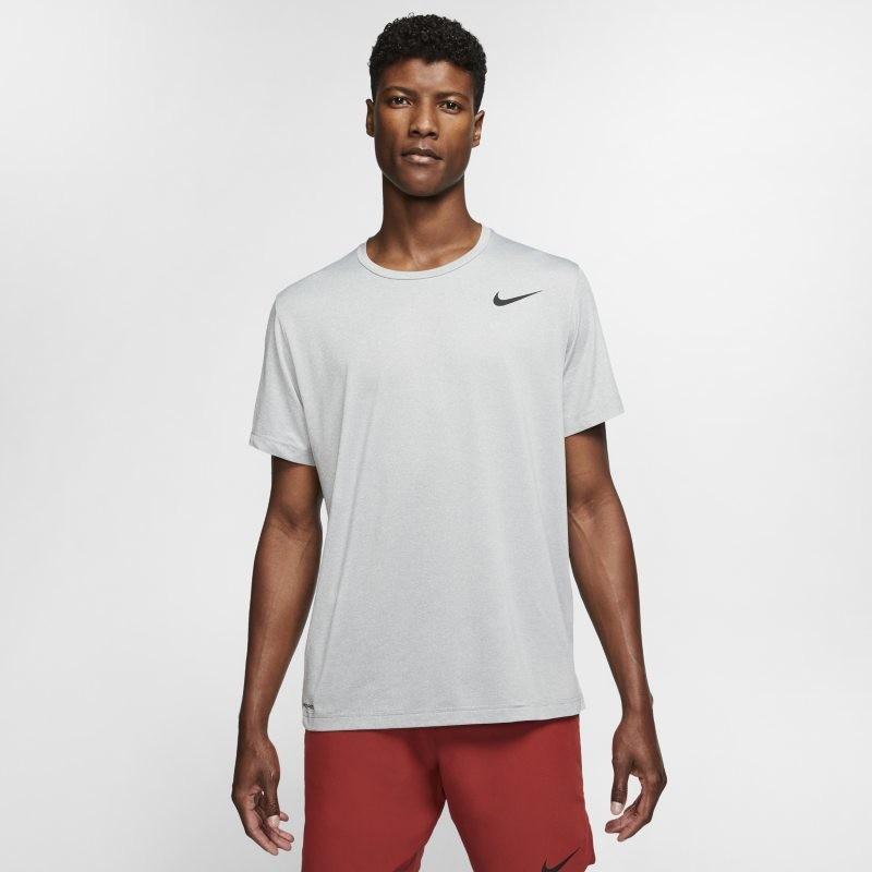 Nike Męska koszulka z krótkim rękawem Pro - Szary CJ4611-084
