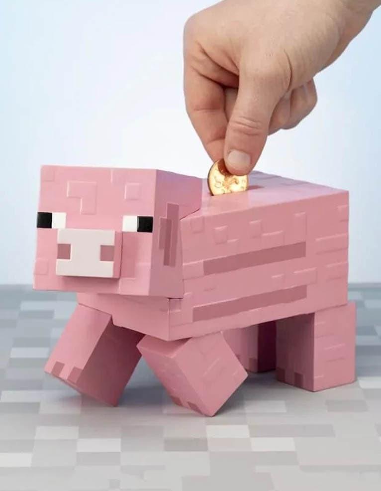 Paladone Skarbonka Minecraft Świnka Różowa 730 000 370 W-wa