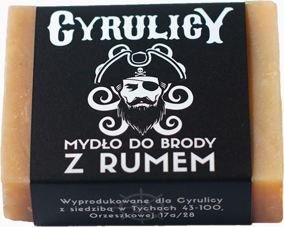 CYRULICY CYRULICY Mydło do Brody i Twarzy z Rumem 100 g