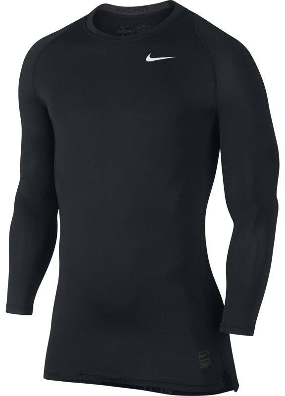 Nike koszulka termoaktywna męska NIKE PRO COOL COMPRESSION LONGSLEEVE / 703088-010 FUN-803/S