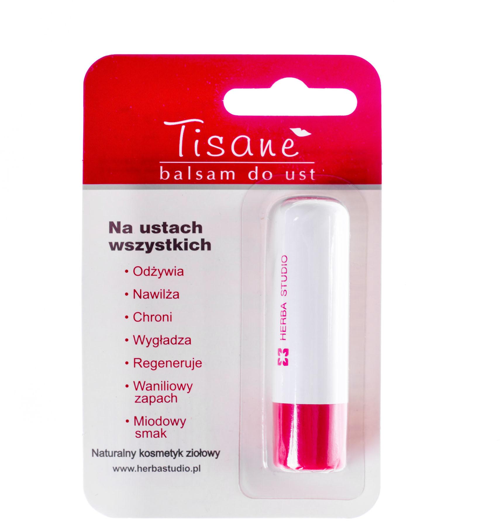 Herba Studio Tisane balsam pomadka do ust blister