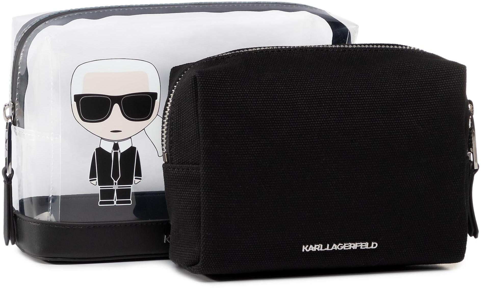 Karl Lagerfeld Zestaw kosmetyczek KARL LAGERFELD - 201W3204 Transparen