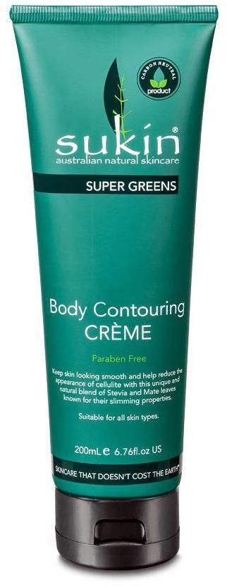 SUKIN Sukin, SUPER GREENS Detoksykujący krem antycellulitowy, 200ml