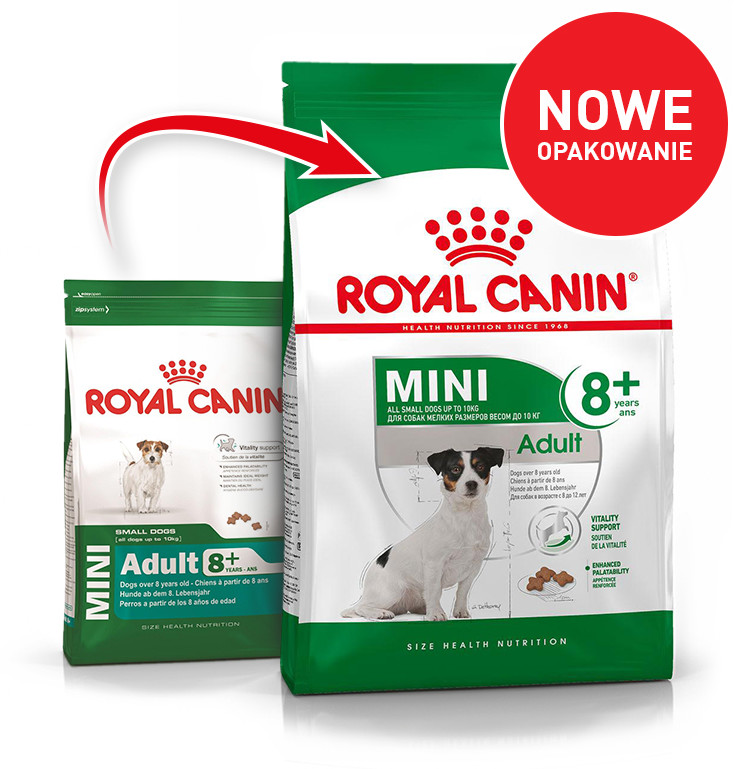 Royal Canin Mini Adult 8+ 8 kg