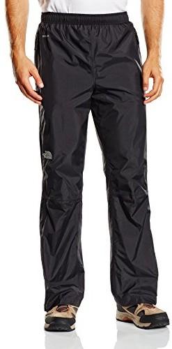 The North Face męskie spodnie przeciwdeszczowe Resolve, czarny AFYUJK3