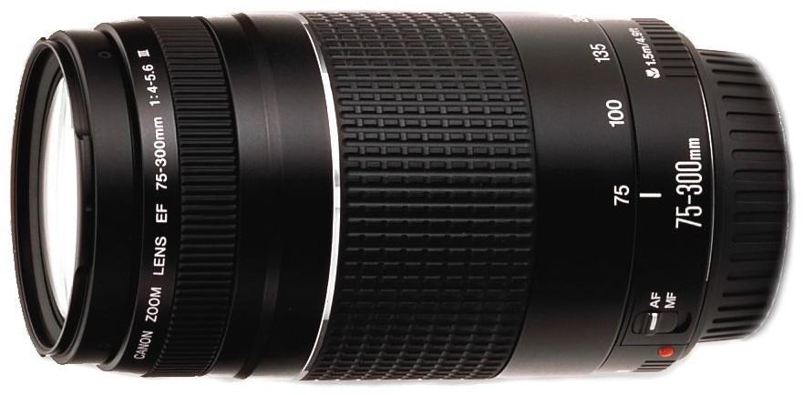 Canon EF 75-300mm f/4.0-5.6 III (6473A015)