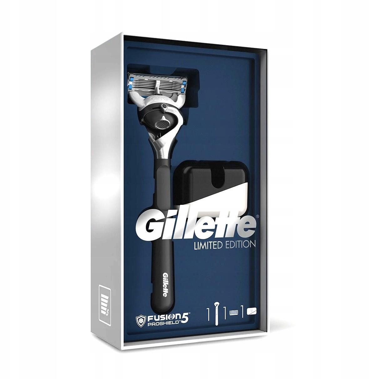 Gillette Zestaw Fusion 5 maszynka + stojak