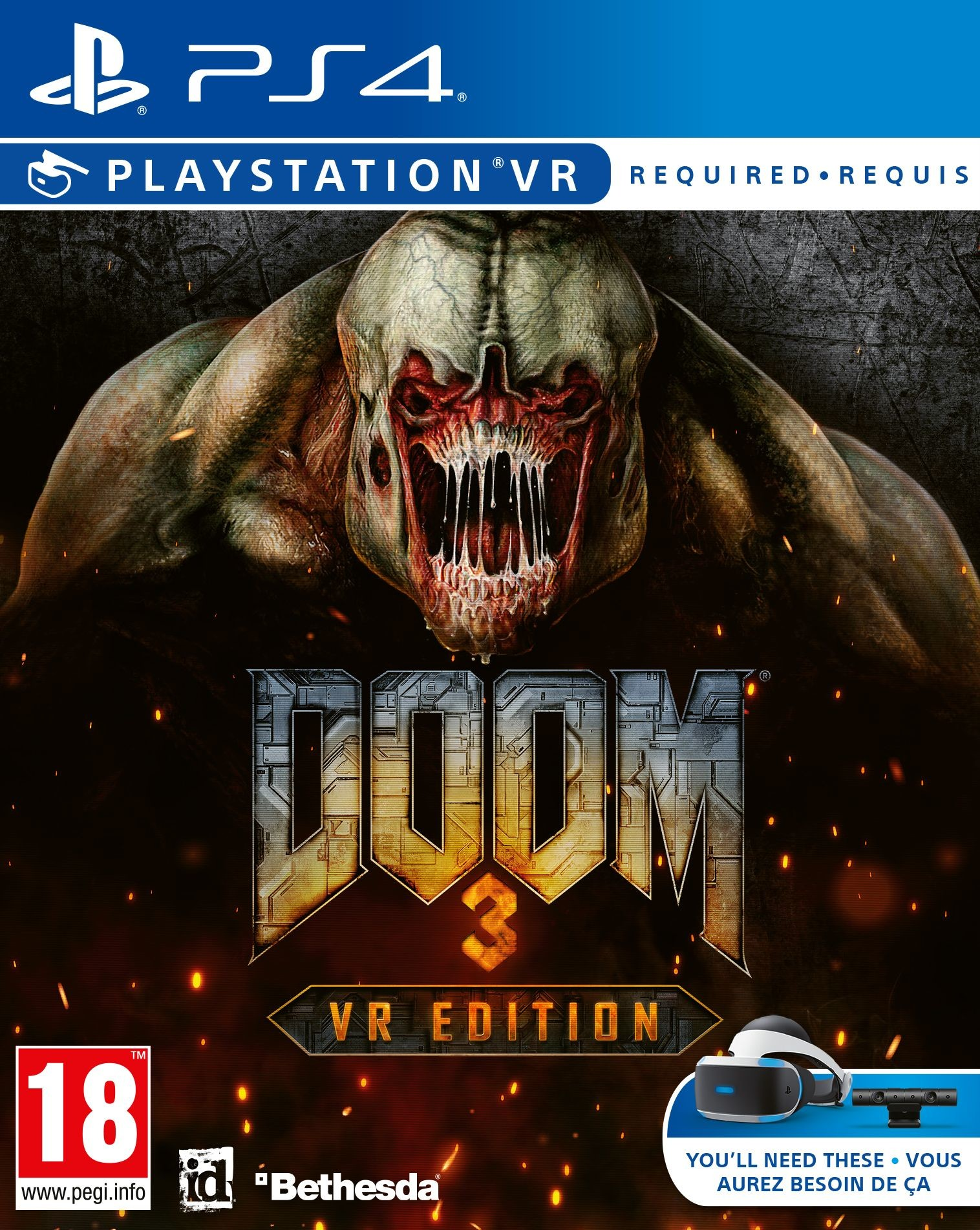 Doom 3 VR Edition (GRA PS4 VR)
