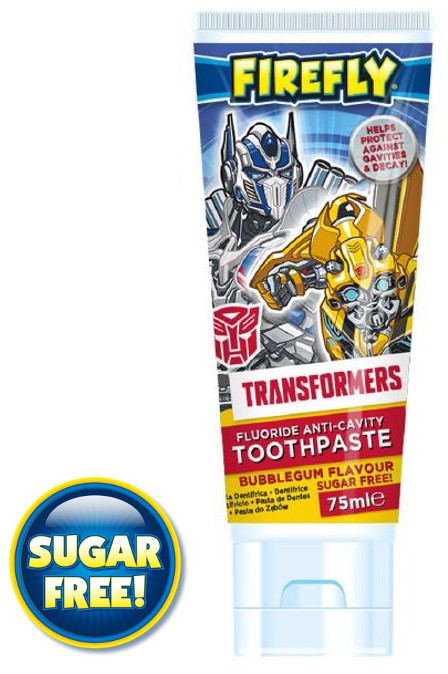 FIREFLY Pasta do zębów Transformers 75ml 3 + TOW011566