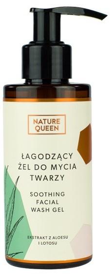 Nature Queen NATURE QUEEN ŁAGODZĄCY ŻEL DO MYCIA TWARZY 150ML