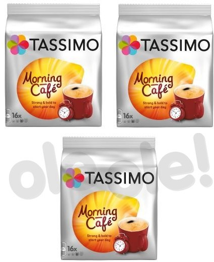 Tassimo Tassimo Morning Cafe 3 opakowania